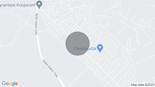 Private Poolnear Didimjacuzzibbqwalk to Shop,bar,restaurant,mini Market Map