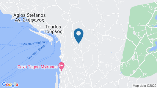 Mykonos Divino Map