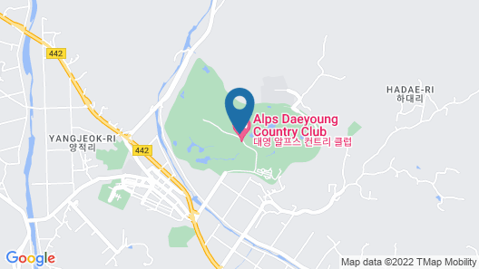 Alps Daeyoung Golf Village Map