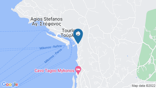 Mykonos Riviera Map