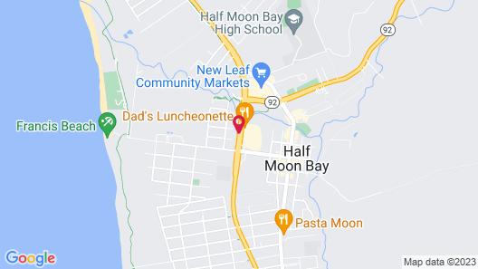 Coastside Inn Map
