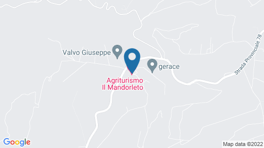 Il Mandorleto Map