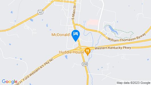 Hatfield Inn Map