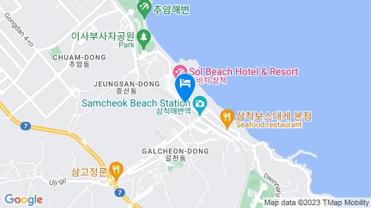 Sol Beach Samcheok Map