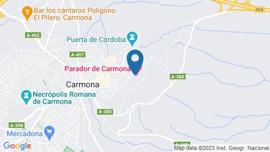 Parador de Carmona Map