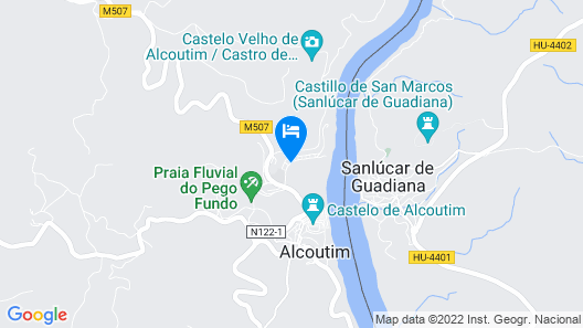 Hotel D'Alcoutim Map