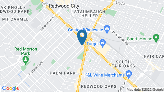 @ Marbella Lane Duplex Redwood City Map