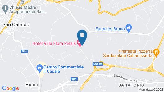Hotel Villa Flora Relais Map
