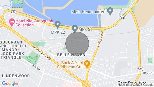 2 Rooms,1 Bathroom, Kitchen_stanford, Palo Alto Map