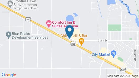 Holiday Inn Express & Suites Alamosa, an IHG Hotel Map