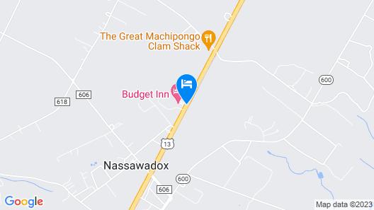 Budget Inn Nassawadox Map