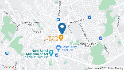 Seocho Guesthouse K - Hostel Map
