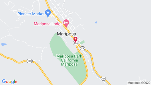 Best Western Plus Yosemite Way Station Motel Map
