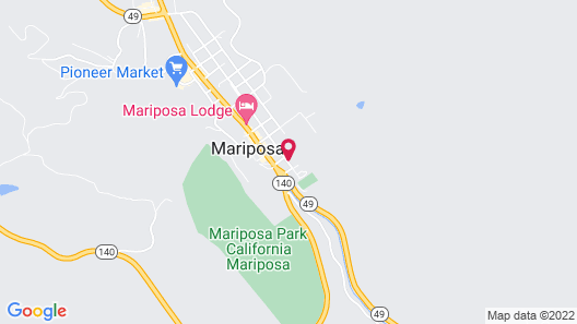 Quality Inn Yosemite Valley Gateway Map