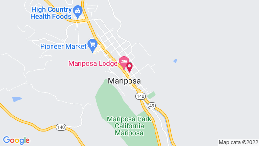 River Rock Inn And Deli Map