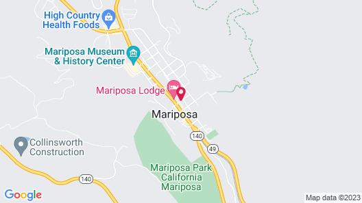River Rock Inn Map