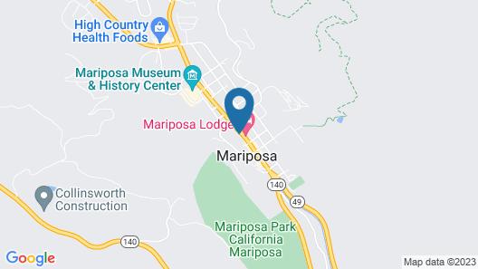 Mariposa Lodge Map