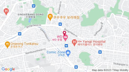 Dream Inn Seoul Guesthouse Map