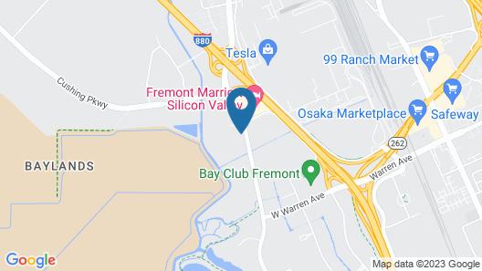 SpringHill Suites by Marriott San Jose Fremont Map