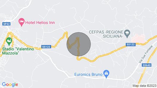 Suite Glicine - Bb S Elia Map