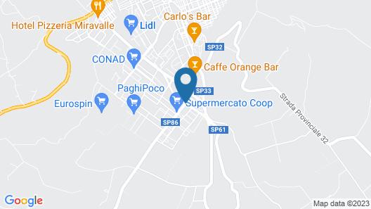 Residence alla Rotonda Map