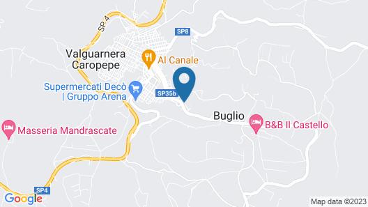 B&B Del Centro Map