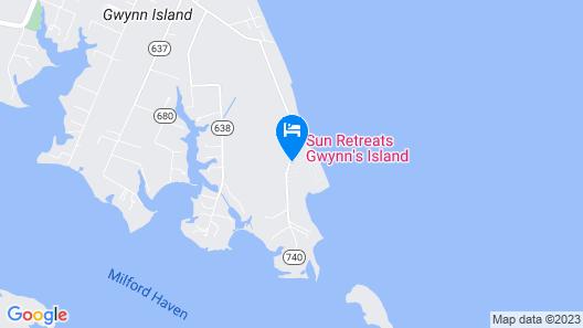 Gwynn's Island RV Resort  Map