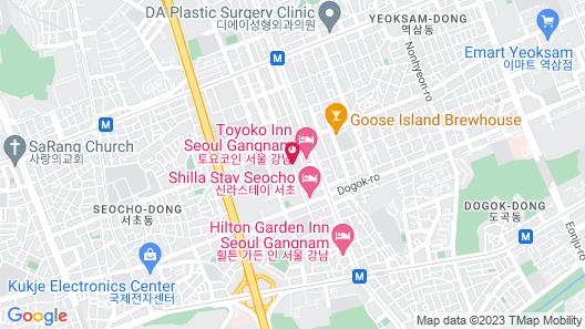 Urban Place Gangnam Map