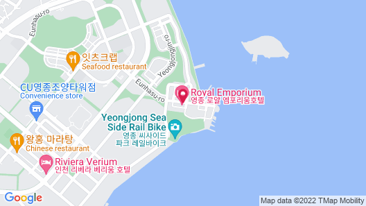 Incheon Airport Hotel Heyden Yeongjong Map