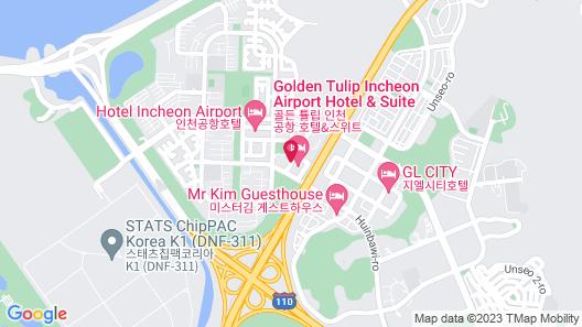 Golden Tulip Incheon Airport Hotel & Suites Map