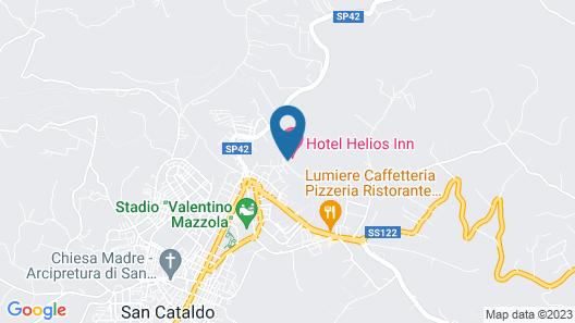 Helios Hotel Map