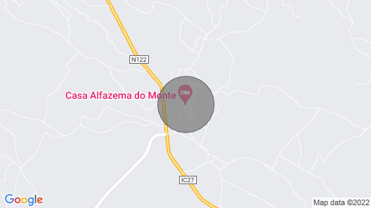 Country House With Jacuzzi in Alcoutim, by Izibookings Map