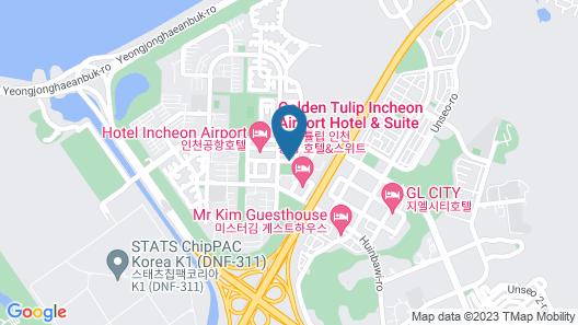 Howard Johnson by Wyndham Incheon Airport Map