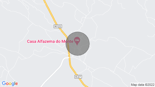 Double Room in Country House in Alcoutim, by Izibookings Map