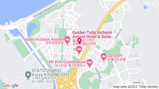 Incheon Airport Hotel June Map