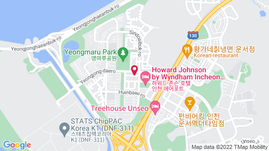 Incheon Airtel Map