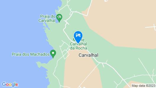 Monte Carvalhal da Rocha - Campground Map