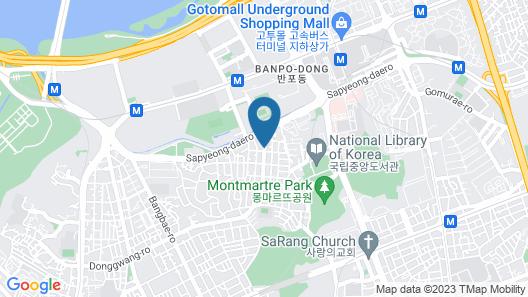 Motel Yam Seorae Village Map