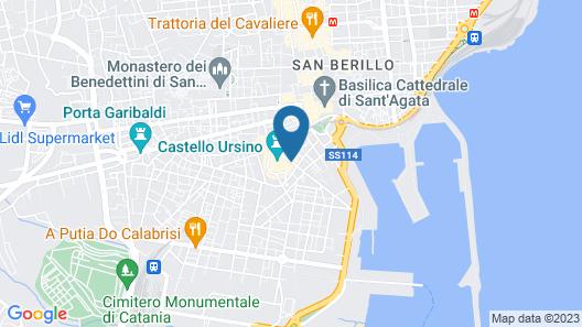 City-in-hostel-B&B Map