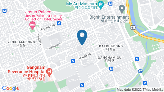 Seoul Holiday Guesthouse - Hostel Map