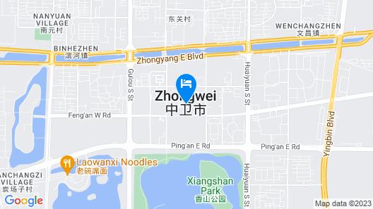 Vyluk·J Hotel Guloudong Road Zhongwei Map