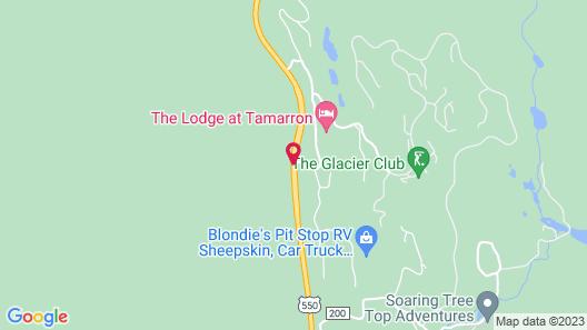 The Lodge at Tamarron by Purgatory Resort Map