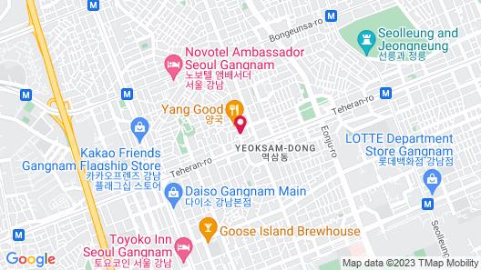 Mercure Ambassador Seoul Gangnam Sodowe Map