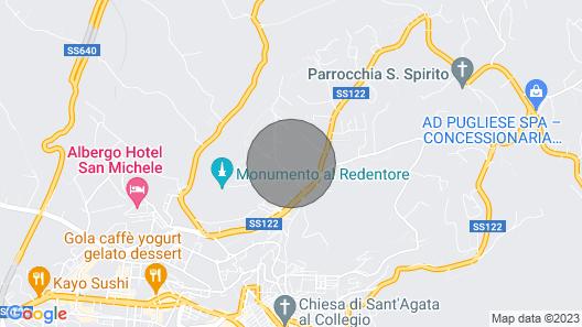 Mini Apartment in the Villa Via Monte San Giuliano 23 Caltanissetta Map