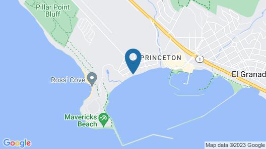 @ Marbella Lane - Beachfront House in Half Moon Bay Map
