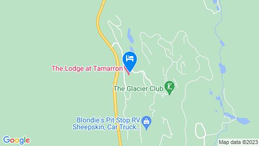 Tamarron Studio 207 Map