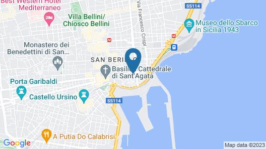 Sciara Larmisi Map