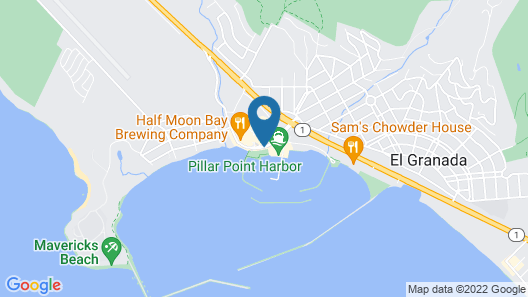 Oceano Hotel and Spa Map