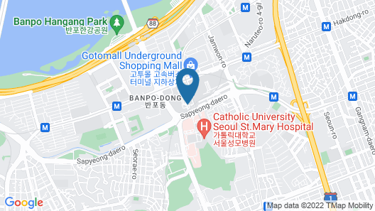 JW Marriott Hotel Seoul Map
