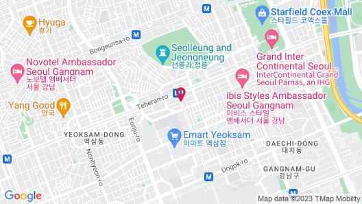 Hotel Newv Map
